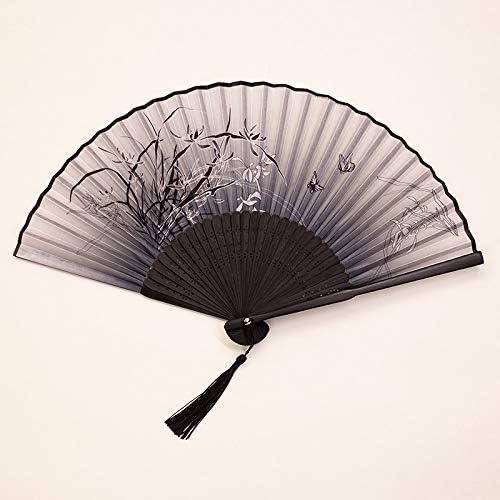 LUFEILI Ventilador Plegable japonés Ventilador Chino Fan Fan y ...
