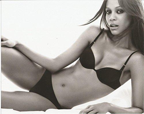 Zoe Saldana black bikini 8x10 Glamour Photo