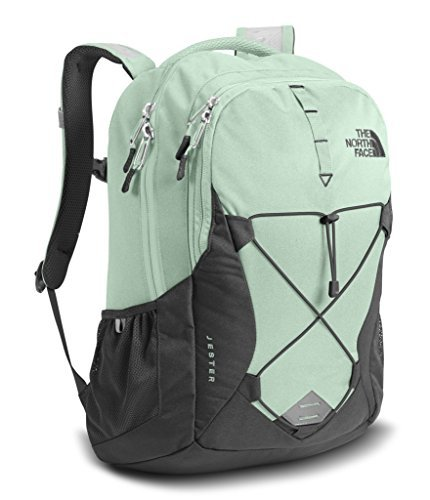 The North Face Women's Jester Backpack - Subtle Green/Asphalt Grey - One Size [並行輸入品] B07FHR4ZDB