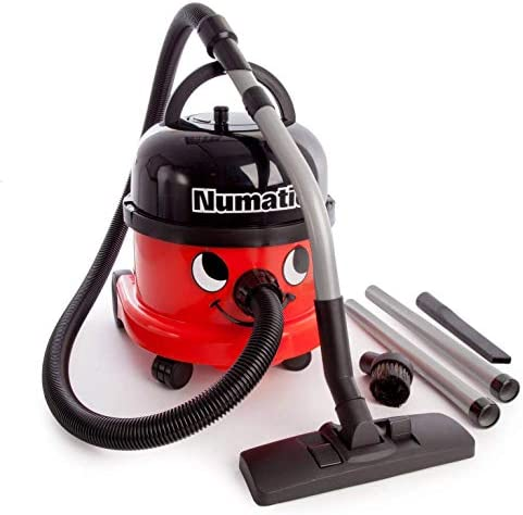 Numatic NRV 240-11 Dry Vacuum Cleaner, 9 Litre, 580 W, Red