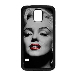 Samsung Galaxy S5 Cell Phone Case Black Marilyn Monroe fed