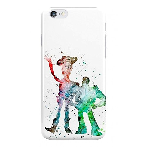 Watercolour Woody & Buzz Toy Story Phone Case - Hard Plastic, Snap On Cell Phone Cover - iPhone, iPod & Samsung - Fun Cases - iPhone 5 / 5s / SE
