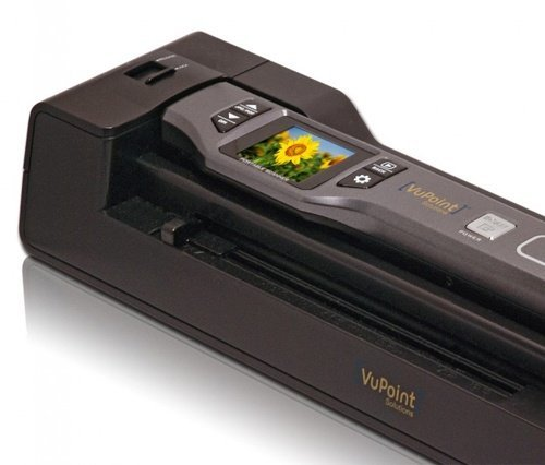 Vupoint Solutions Magic Wand Portable Scanner with 1.5 Inch Color LCD Display and Auto-Feed Dock - for Photo, Document, Receipt (PDSDK-ST470-VP) by VuPoint Solutions (Image #7)