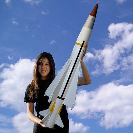"Madcow Rocketry 4"" Seawolf Rocket Kit"