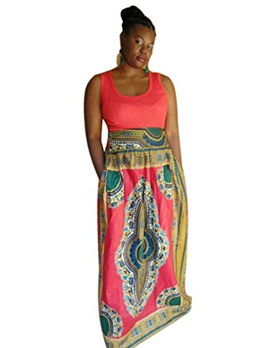 Choies Womens Sleeveless African Dashiki