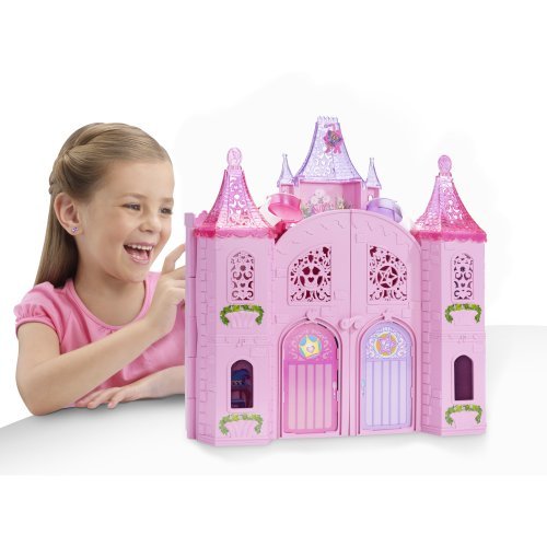 Barbie The Princess and The Popstar Musical Light Up Castle Playset by Barbie