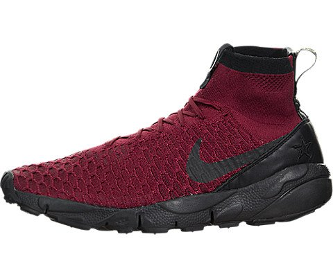 Nike Fc Shoe - Nike Men's Air Footscape Magista Flyknit FC Team Red/Black Team Red Indoor Soccer Shoe 10 Men US