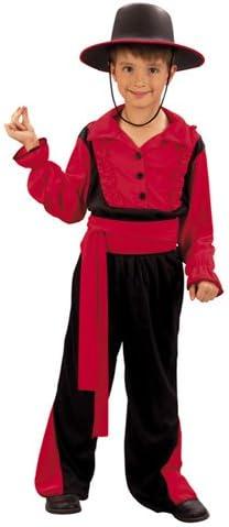 Niño traje de lujo española Kid Gaucho. Tamaño: 7-9 años: Amazon.es: Juguetes y juegos