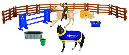 Breyer Stablemates Collection #6027 English Play Set - New F