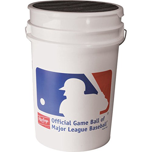 Rawlings Official League Baseballs & Bucket, 24 Count by Rawlings (Image #3)