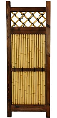 Oriental Furniture 4 ft. x 1 ½ ft. Japanese Bamboo Zen Garden Fence