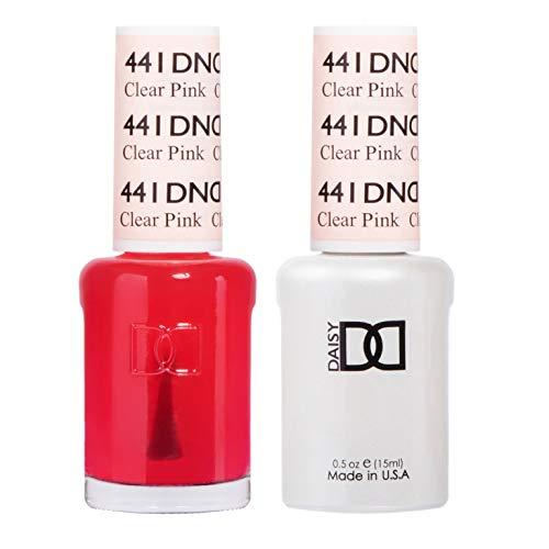 (DND *Duo Gel* (Gel & Matching Polish) Spring Set 441 - Clear Pink)