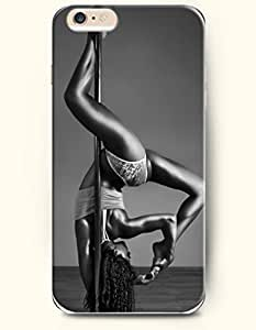 iPhone 6 Plus Case 5.5 Inches Sexy Pole Dancer - Hard Back Plastic Case OOFIT Authentic