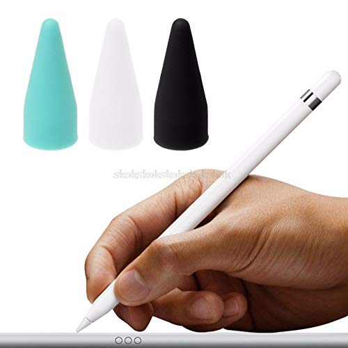 V2AMZ - Protective Cap Stylus Pen Nib Cover Tip Protector Silicone Waterproof for Apple 1st Generation Mr20 19 from V2AMZ