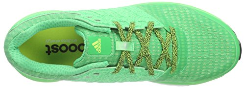 adidas Supernova Sequence Boost 8 M Zapatillas para Hombre Verde - Grün (Flash Lime F15/Flash Lime F15/Solar Yellow)