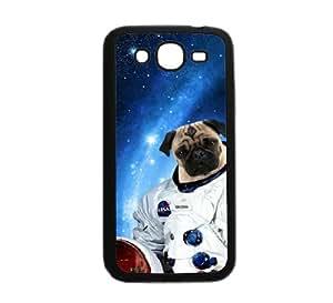"Hipster Astronaut Pug Samsung Galaxy Mega 5.8 Mega 5.8"" i9150 Case - Fits Samsung Galaxy Mega 5.8 Mega 5.8"" i9150"