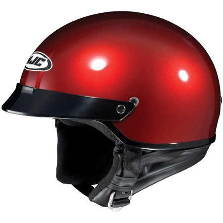 Helmet Berry - HJC Helmet CS-2N Wine Berry Half Helmet - Small
