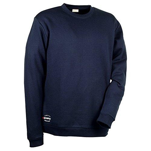 Cofra Sweatshirt mit dehnbarem Gewebe Agadir V109 robuster Pullover, S, marine, 40-00V10902-S