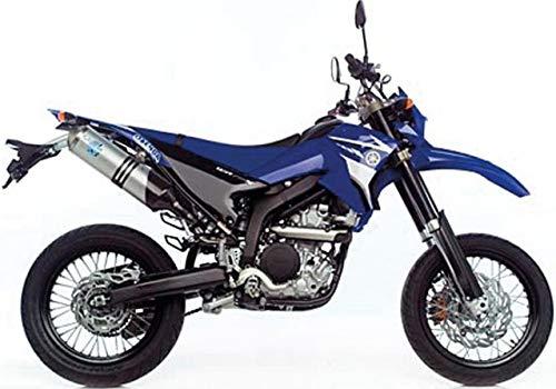 08-18 Yamaha WR250R: Leo Vince X3 Enduro Slip-On Exhaust (Aluminum) ()