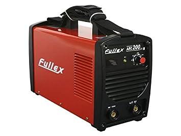 Fullex Arc MMA 200 amperios. S de mano electrodos Soldador inverter - siemens IGBT: Amazon.es: Bricolaje y herramientas