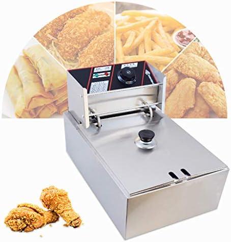 JN Minuterie électrique Commerciale d'acier Inoxydable de friteuse de comptoir de Restaurant de friteuse Profonde