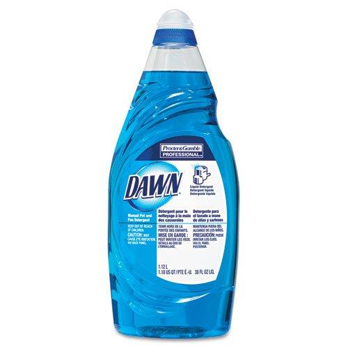 Dawn Dishwashing Liquid, 38 oz Bottle - eight bottles of dishwashing liquid.