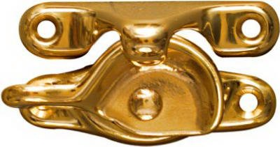 National N198-150 Polished Brass Window Sash Lock - Quantity 30 by Ntional (Image #1)