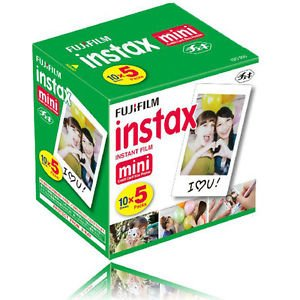 Price comparison product image 50 Sheets Fujifilm Instax Mini Instant Film For Mini SP-1 90 8 25 7S 50S Camera