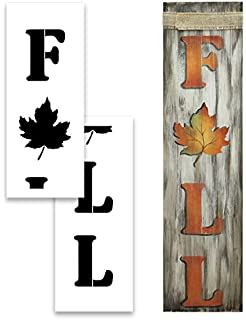48 x 12 Reusable Mylar Template| Ideal for DIY Crafting Tall Vertical Christmas Entrance Sign Large HO HO HO Stencil for Painting on Wood Porch Welcome and Seasonal Signs Pallet