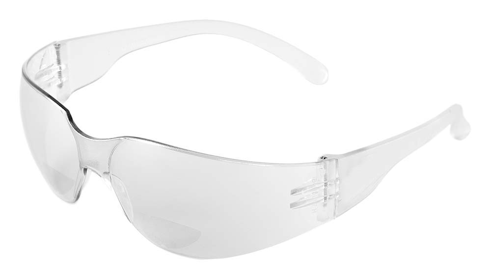 Frosted Black Temple Silver Mirror Lens 1 Pair Bullhead Safety Eyewear BH147 Torrent