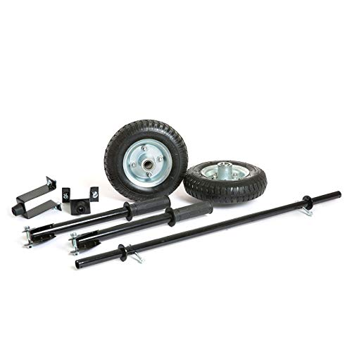 Wheel Kit with Handles and Feet for Portable Petrol Generator WPX3200E Wolf