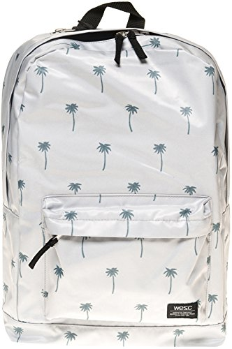 Wesc Men's Chaz Men's Backpack In Grey With Print Grey by WeSC
