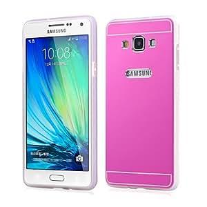 YULIN Teléfono Móvil Samsung - Cobertor Posterior/Carcasas de Cuerpo Completo/Contra Golpes - Gráfico/Color Sólido/Diseño Especial - para , Silver-Gray
