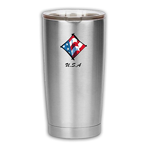Statue Liberty Clipart (American Flag Statue Of Liberty-clipart Home Kitchen Trendy Stainless Steel Vacuum Insulated Sealed Flasks Thermos Coffee Mug Travel Mugs Drink Water Bottle Beverage Tumbler Cup With Lid)