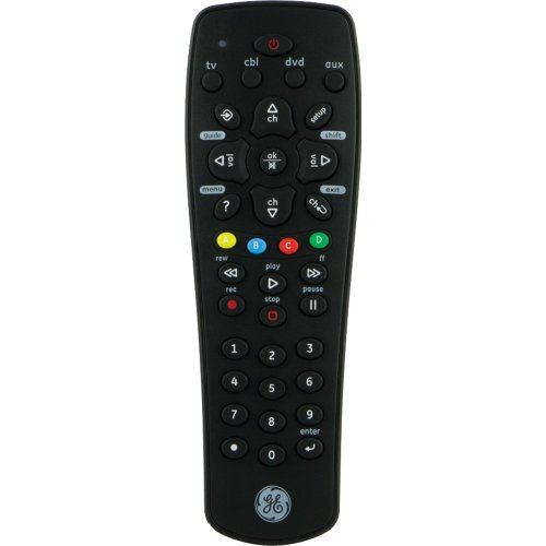 GE 4 Device Universal Remote Function