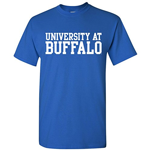 AS01 - University at Buffalo Bulls Basic Block T-Shirt - Medium - Royal Blue