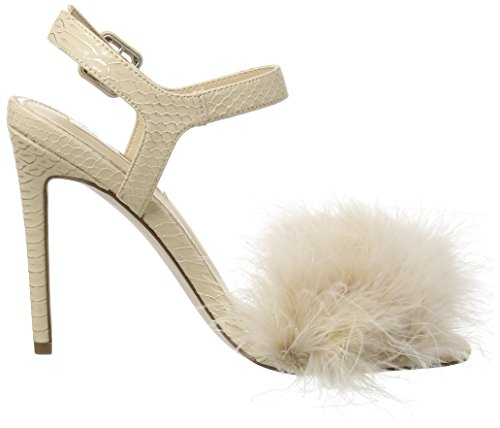 MISS SELFRIDGE Feather - Tacones Mujer Marfil (Nude)