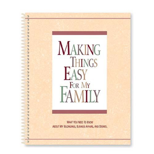Making Things Easy for My Family - Easy Organizer