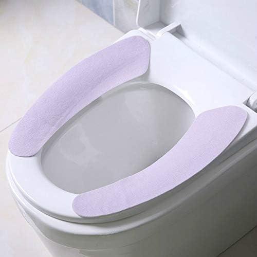 ACIJLRVZK Toilette Warm Waschbar Sanitär Klebrige Toilettensitzkissen