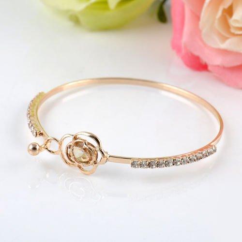 Elegant-Bracelet-Womens-Crystal-Rose-Flower-Bangle-Cuff-Bracelet-Jewelry-Gold-by-NYKKOLA