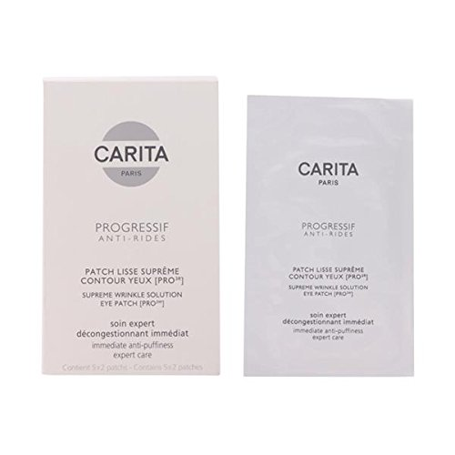 Carita Eye Care 5X2Patches Progressif Anti-Rides Supreme Wrinkle Solution Eye Patch [Pro 3W] For (Carita Skin Mask)