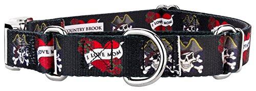 Country Brook Design | I Love Mom Martingale with Premium Buckle - Medium]()