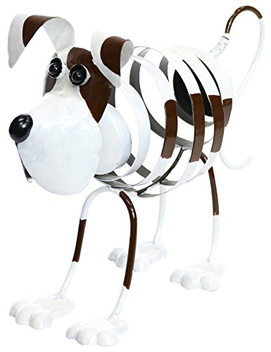 Alpine Corporation Metal Swirl Dog Decor (Dog Art Yard)