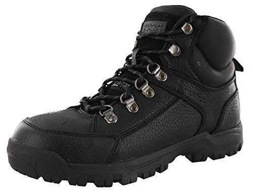 (Rockport Works Mens The Lembert Work/Duty Boots Black 11.5)