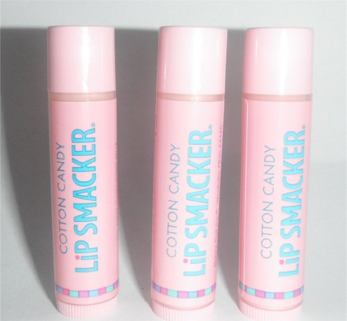 - Bonnie Bell Lip Smackers Lip Balm Cotton Candy Pack of 3