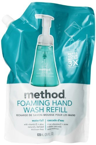 (Method Foaming Hand Wash Refill, Waterfall, 28 Ounce)