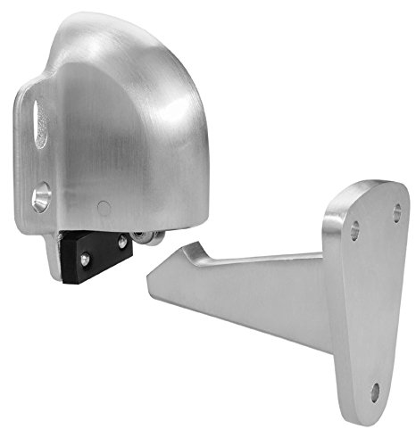 Satin Chrome Finish Rockwood 085844 494.26D Automatic Door Holder with Stop