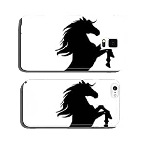 black horse silhouette 16 cell phone cover case Samsung S5