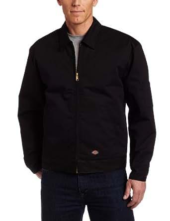 Dickies Men's Big-Tall Insulated Eisenhower Jacket, Black, Small Tall