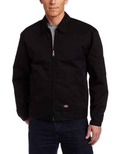 Dickies Men's Big-Tall Insulated Eisenhower Jacket, Black, X-Large - Jacket Dickies Work